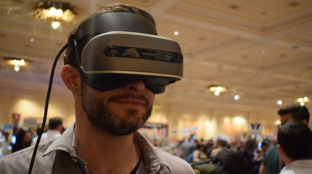 The Windows VR headsets are coming