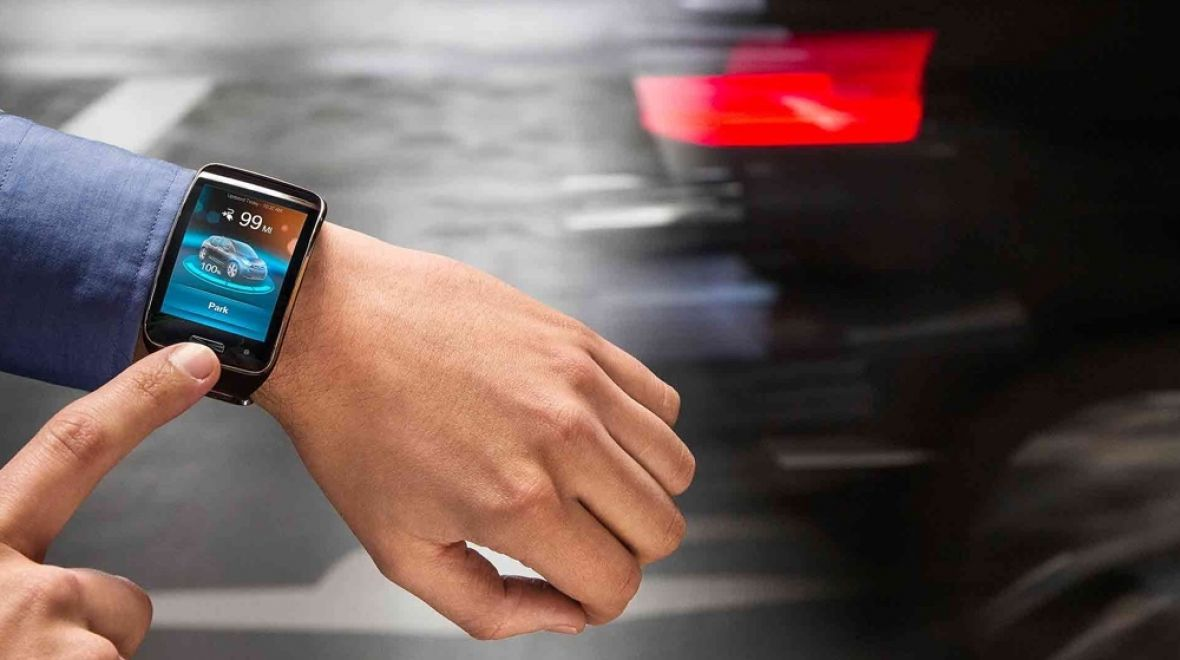 Park your BMW from your smartwatch