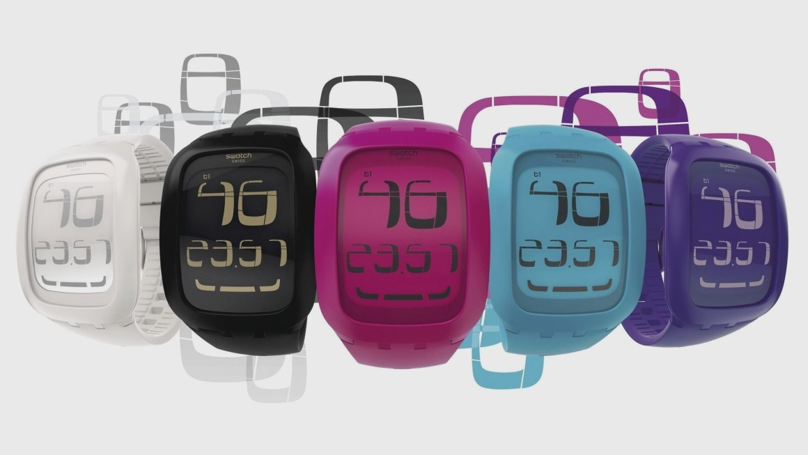 Swatch smartwatch range detailed