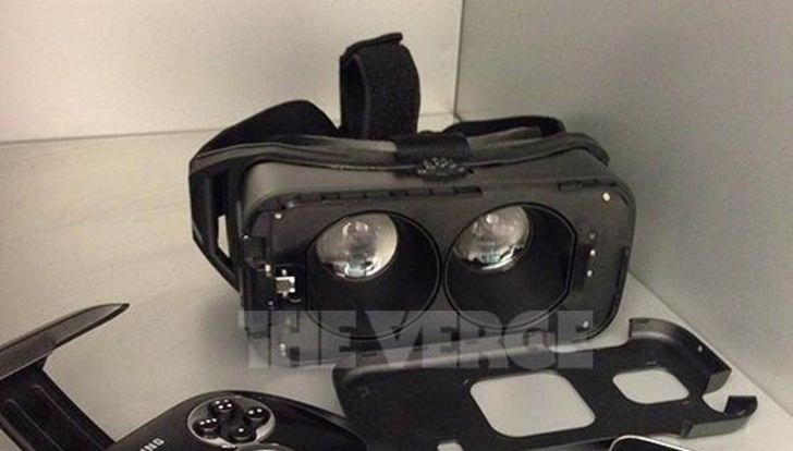 Samsung VR headset pictures leaked