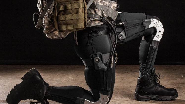 Military exosuit is ultimate wearable