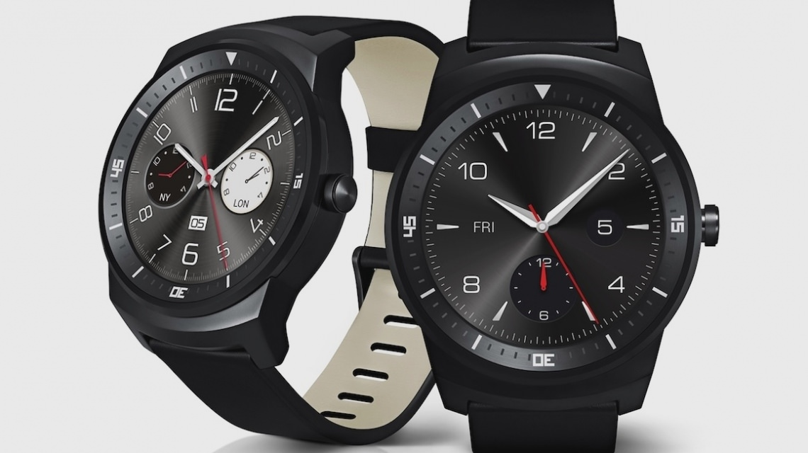 LG G Watch R on sale in November