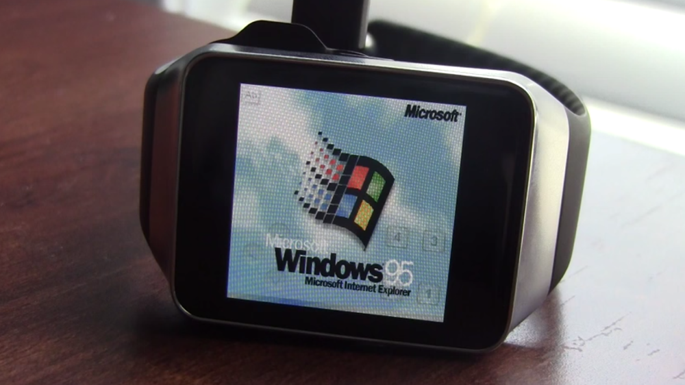 Modder Gets Windows 95 And Minecraft Running On Android Wear