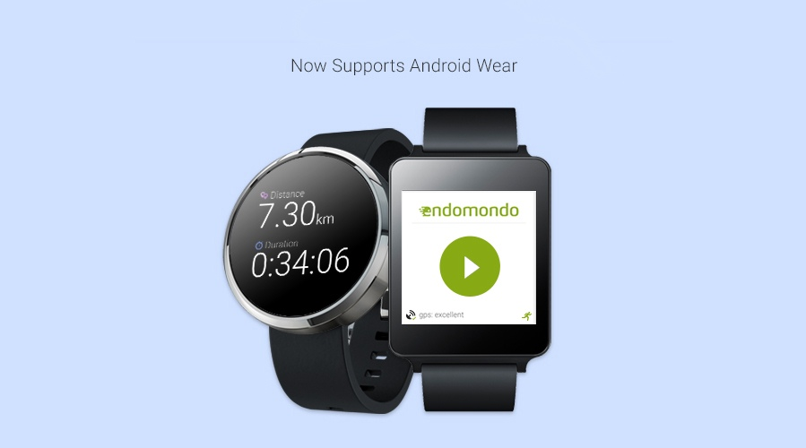 Endomondo hits Android Wear