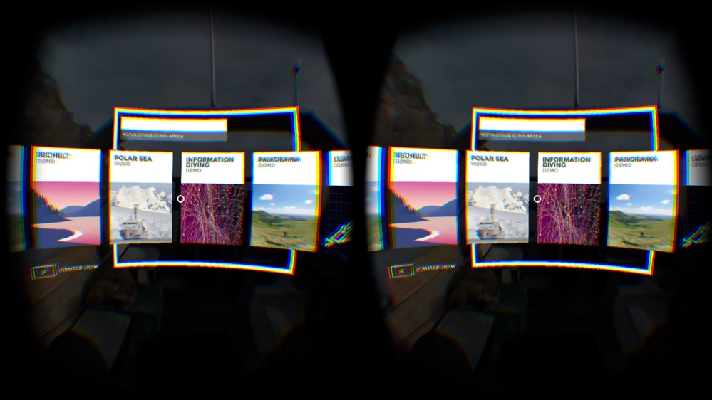 The web gets wearable VR browser