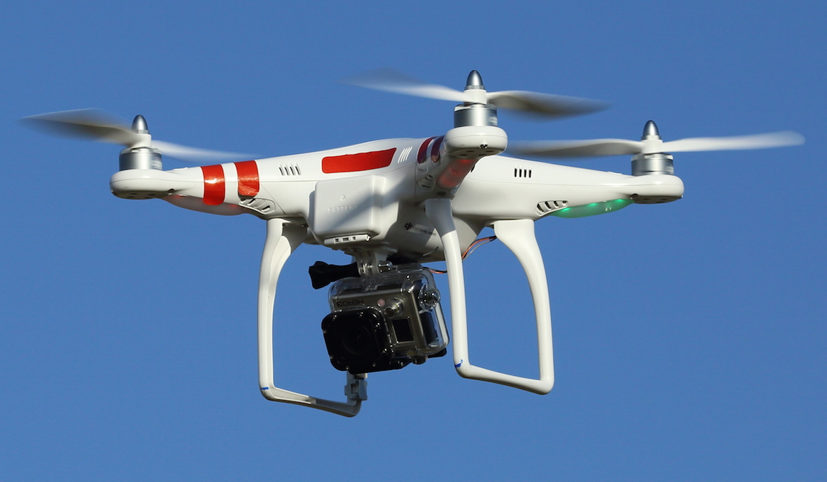GoPro drones take to the skies