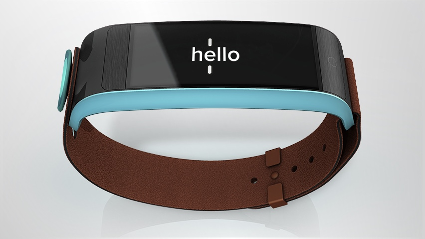 Uno Noteband is the Spritz wearable