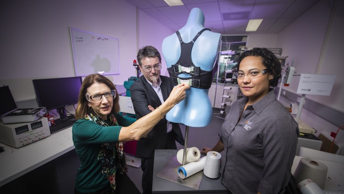 Bionic Bra can transform into a sports bra