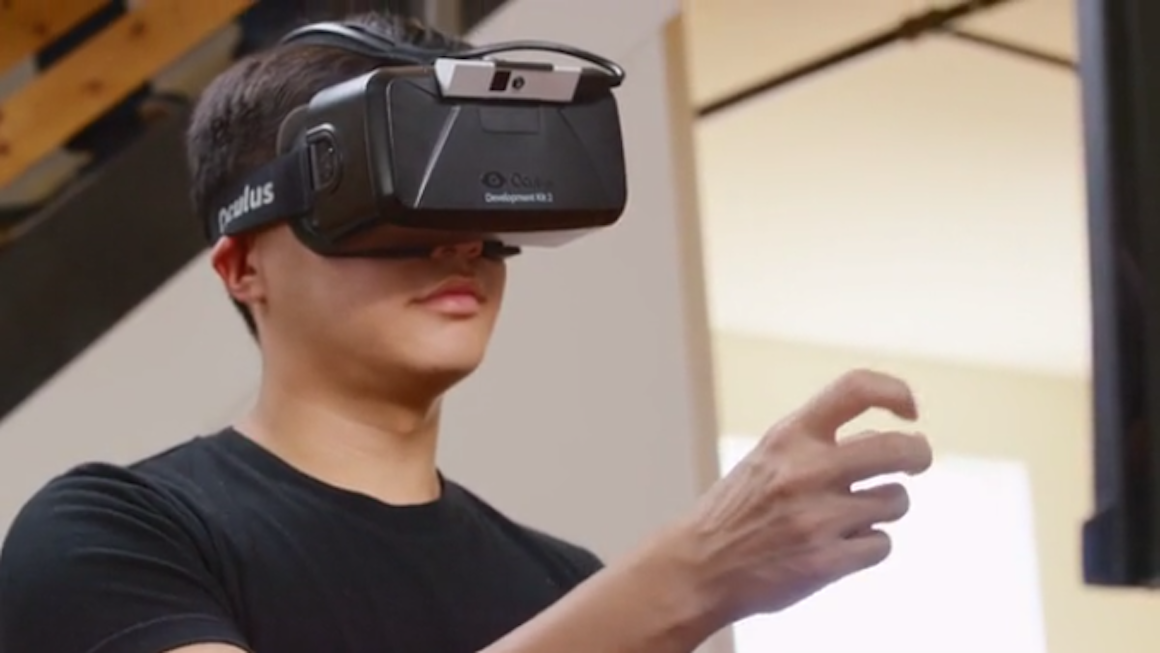 Why Oculus just bought Nimble VR