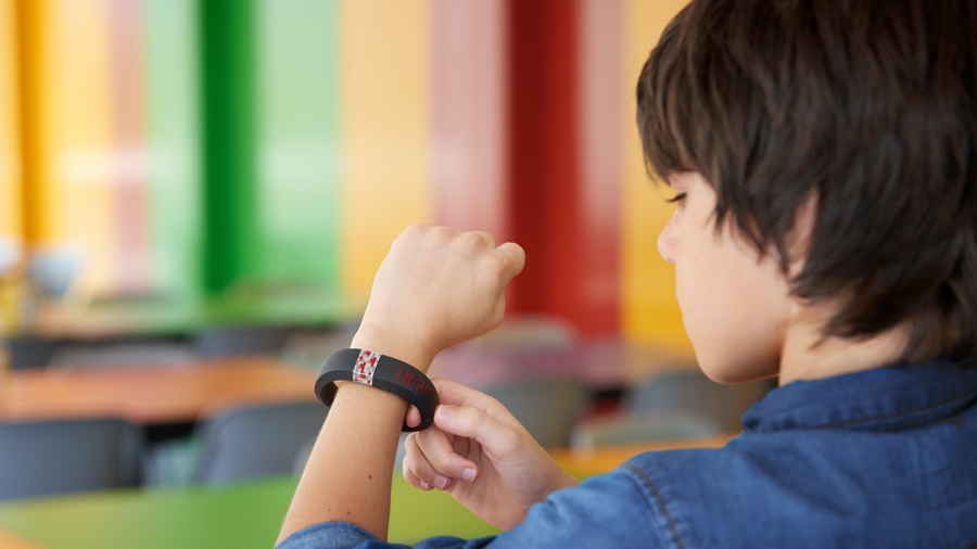Minecraft band puts worlds on your wrist