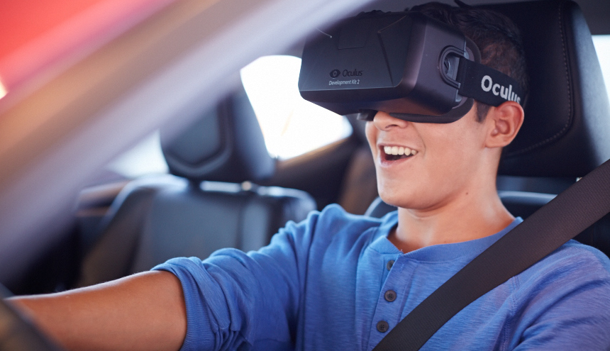 Toyota's VR experience for teen drivers