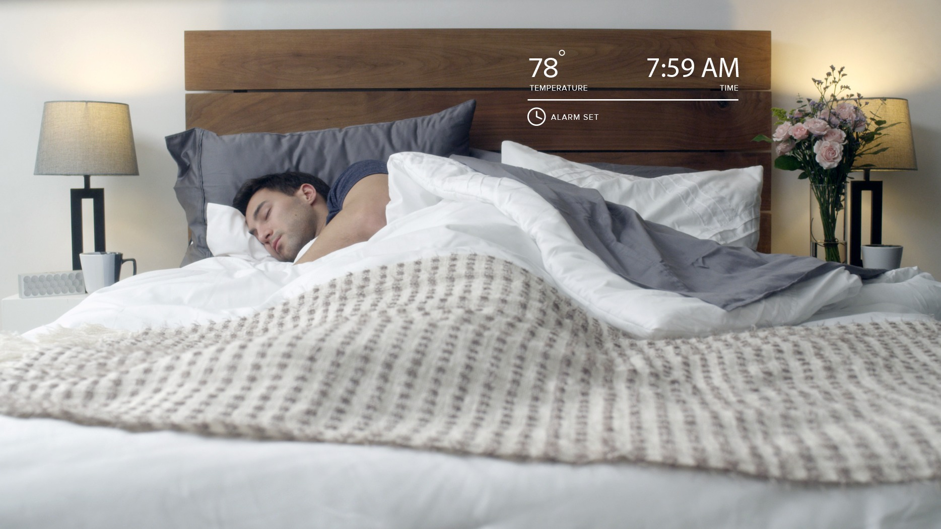 ​Luna smart bed storms Indiegogo