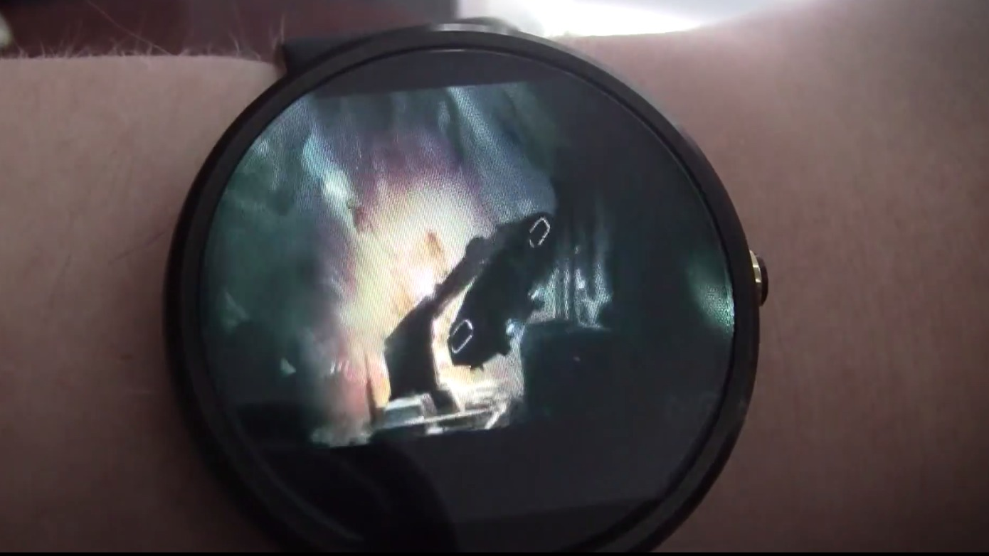 ​Android Wear plays full length movies