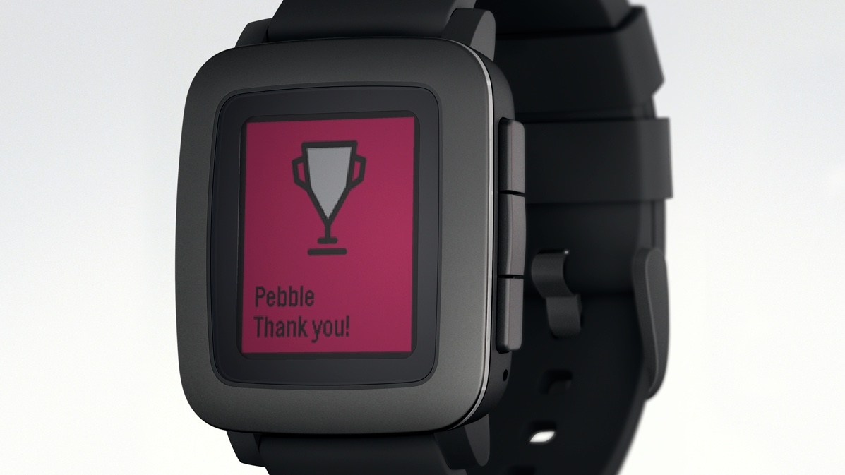Pebble Time hits $20 million