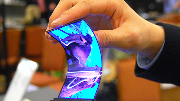 Samsung's flexible phone/bracelet hybrid
