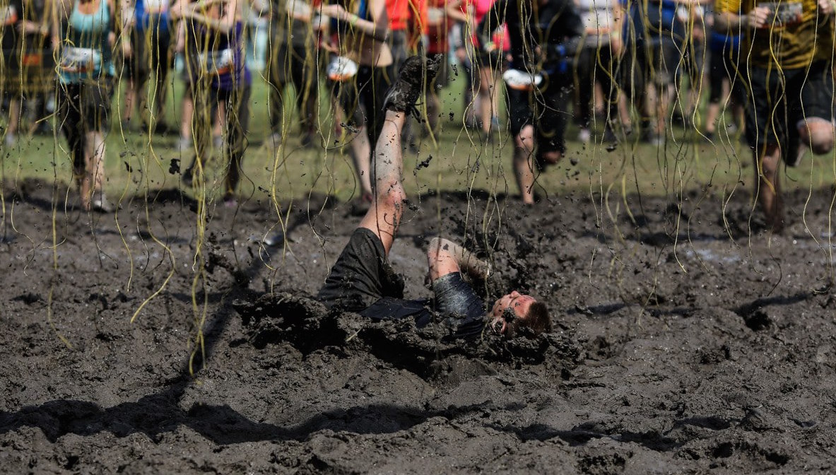The funniest Tough Mudder fails