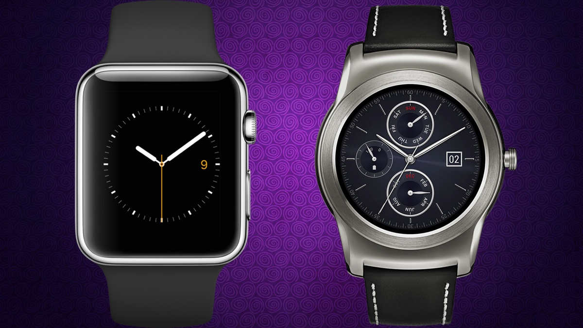 Apple Watch v LG Watch Urbane