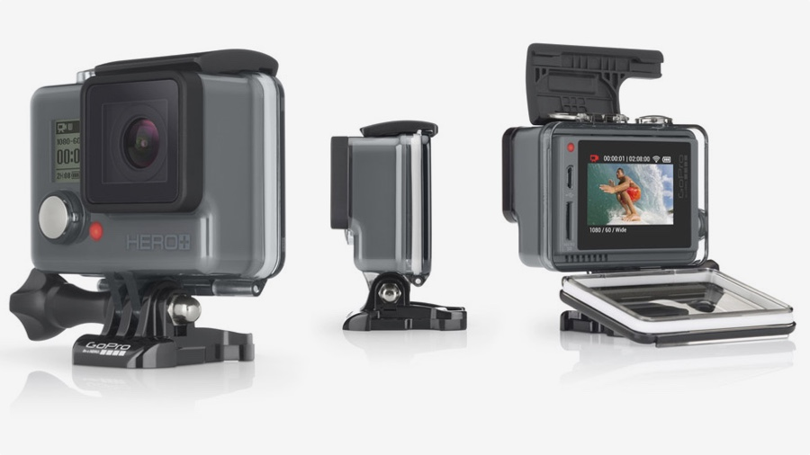 GoPro Hero+ LCD announced