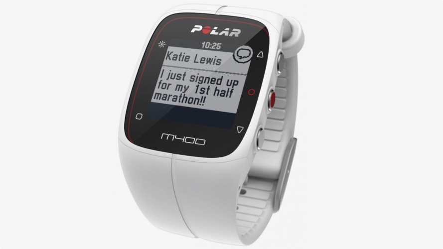 Polar M400 gets smartwatch skills