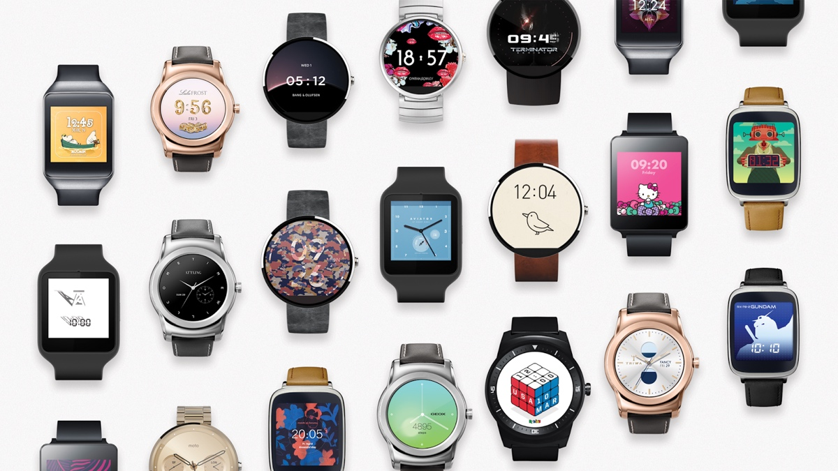 Google's 17 new Android Wear watch faces