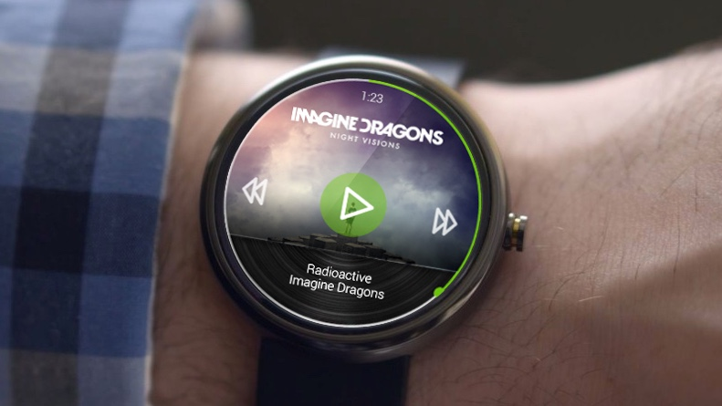 Spotify app lands on Android Wear