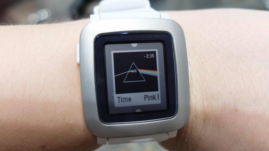 Pebble Time update released