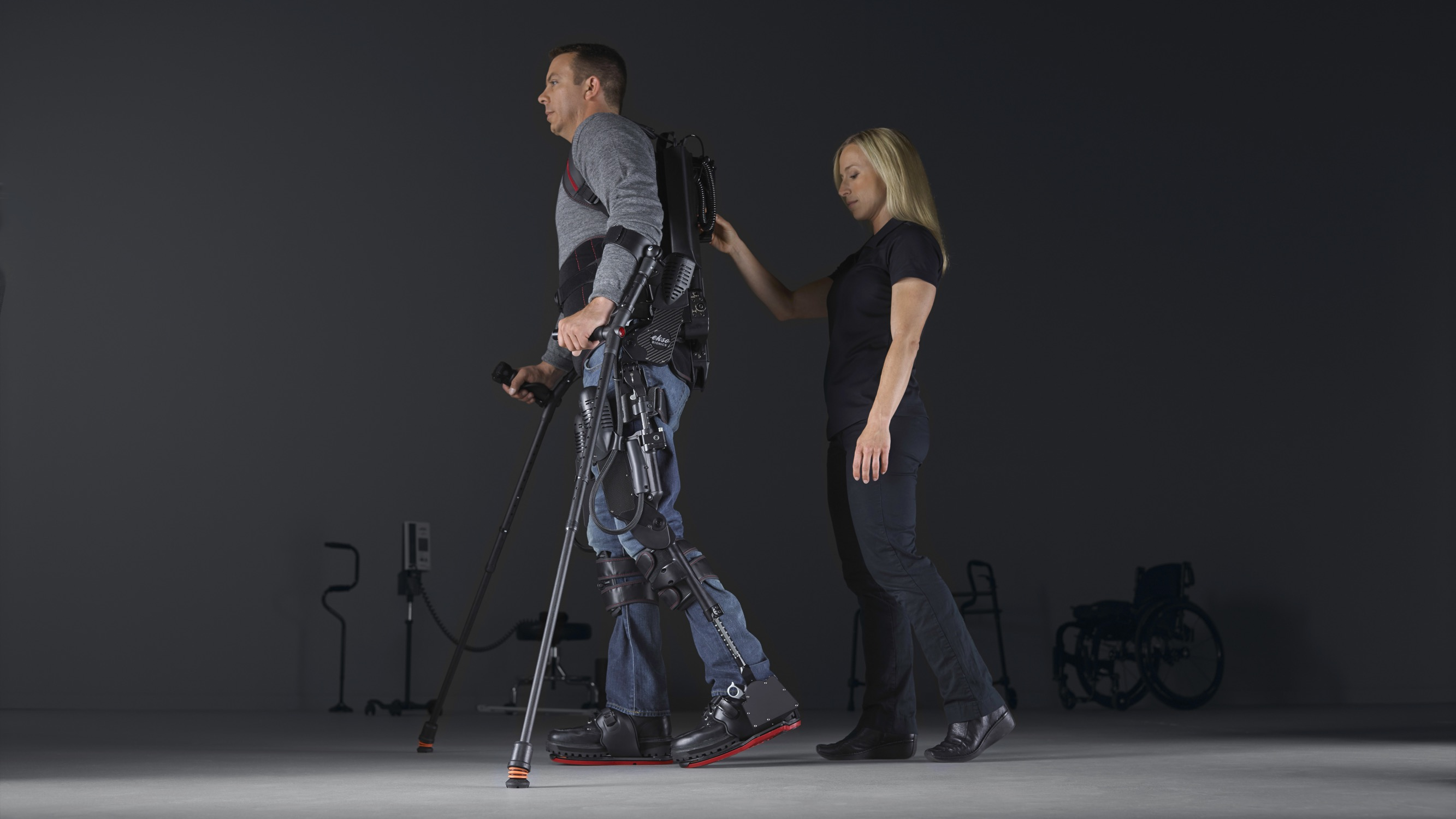 The wearable rehab robot