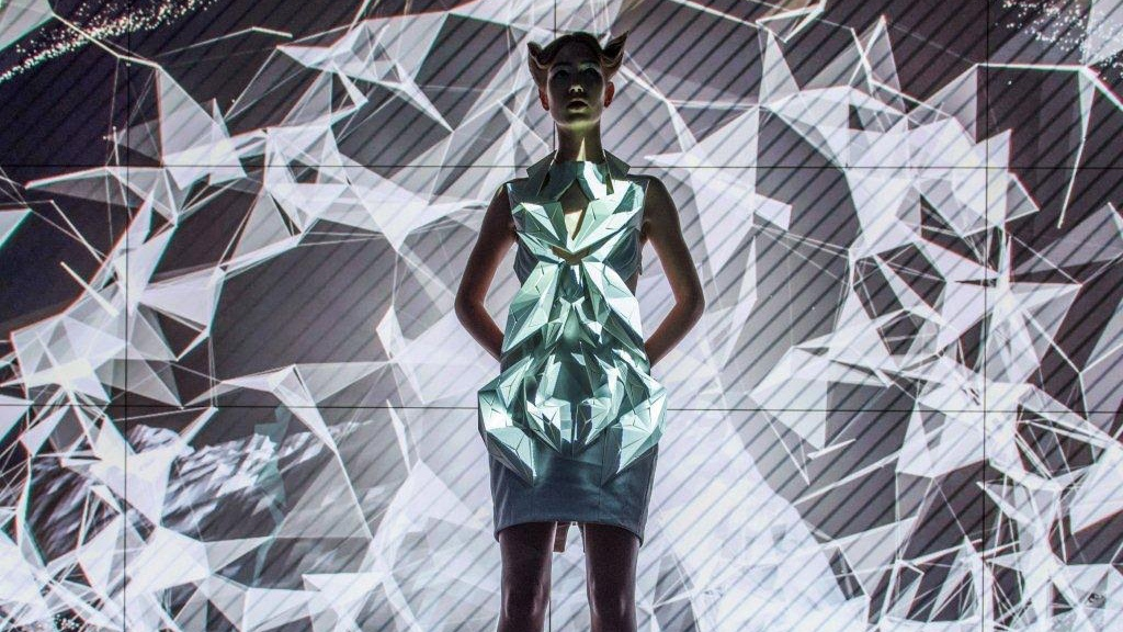 These smart dresses are made from car parts