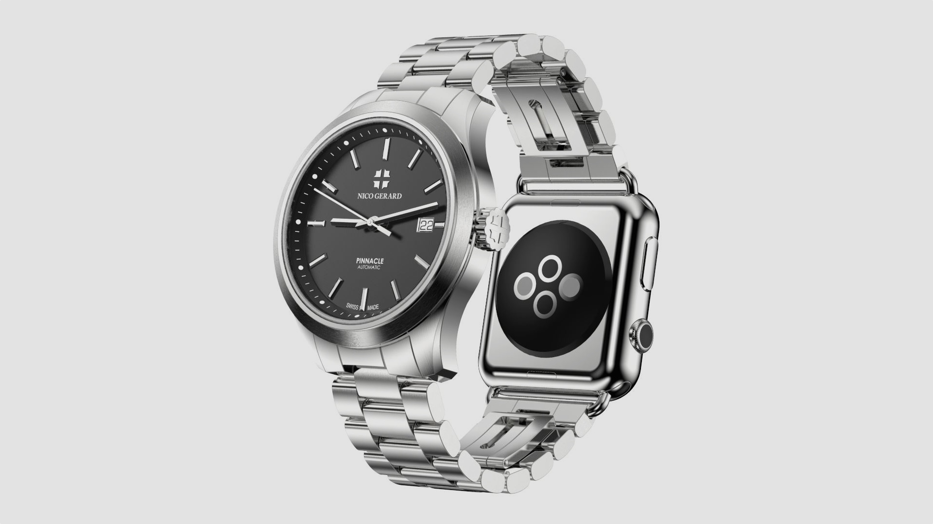 Pinnacle watch comes with Apple Watch