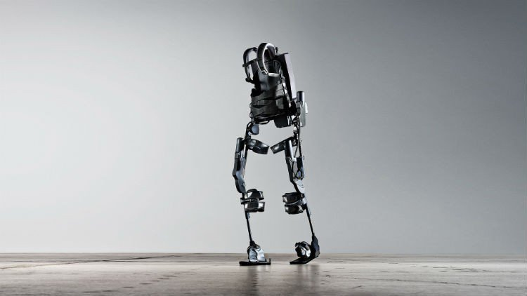 Training with a robotic exoskeleton