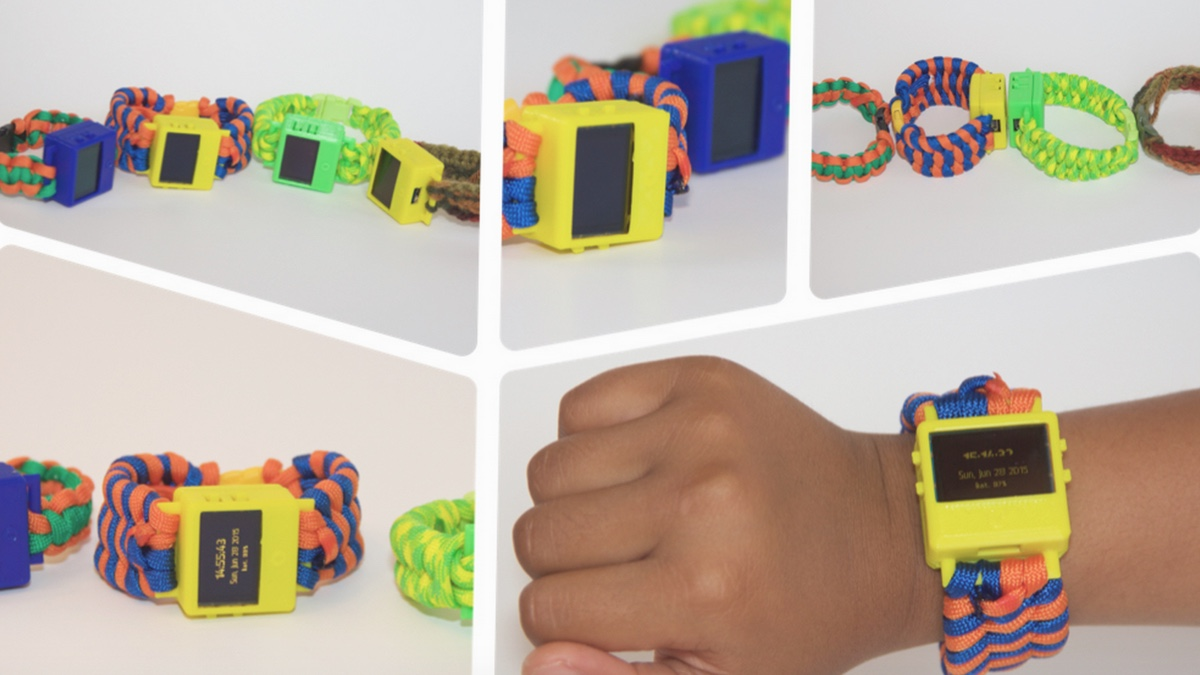 8-year-old knocks up 3D printed smartwatch