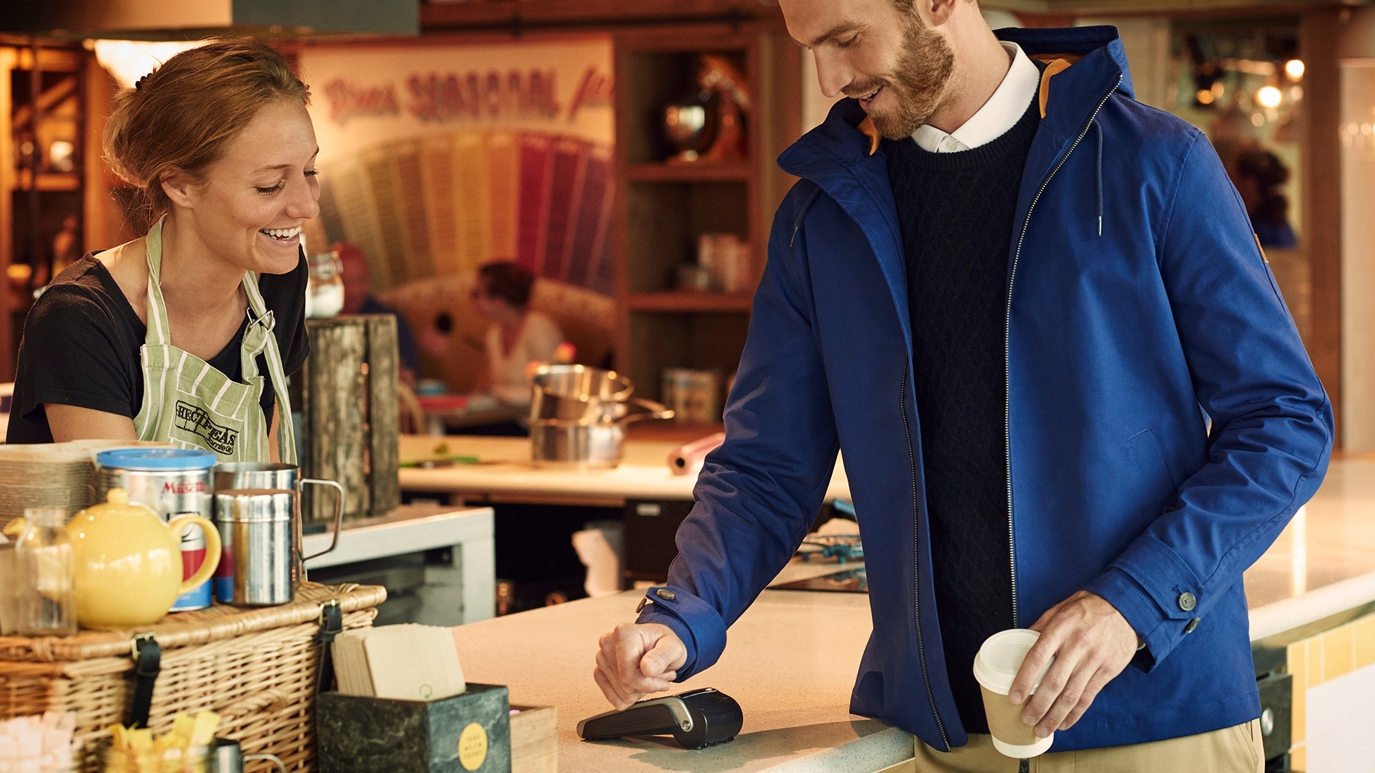 Lyle & Scott unveils Contactless Jacket