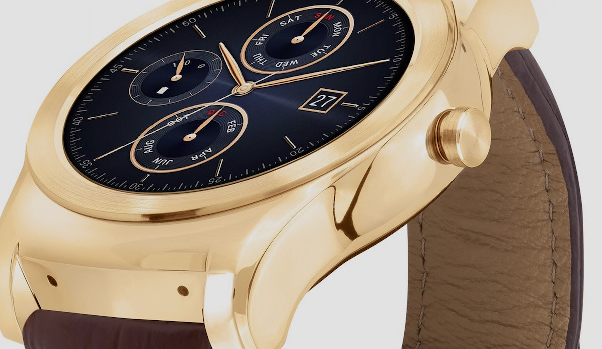 LG Watch Urbane gets luxury model