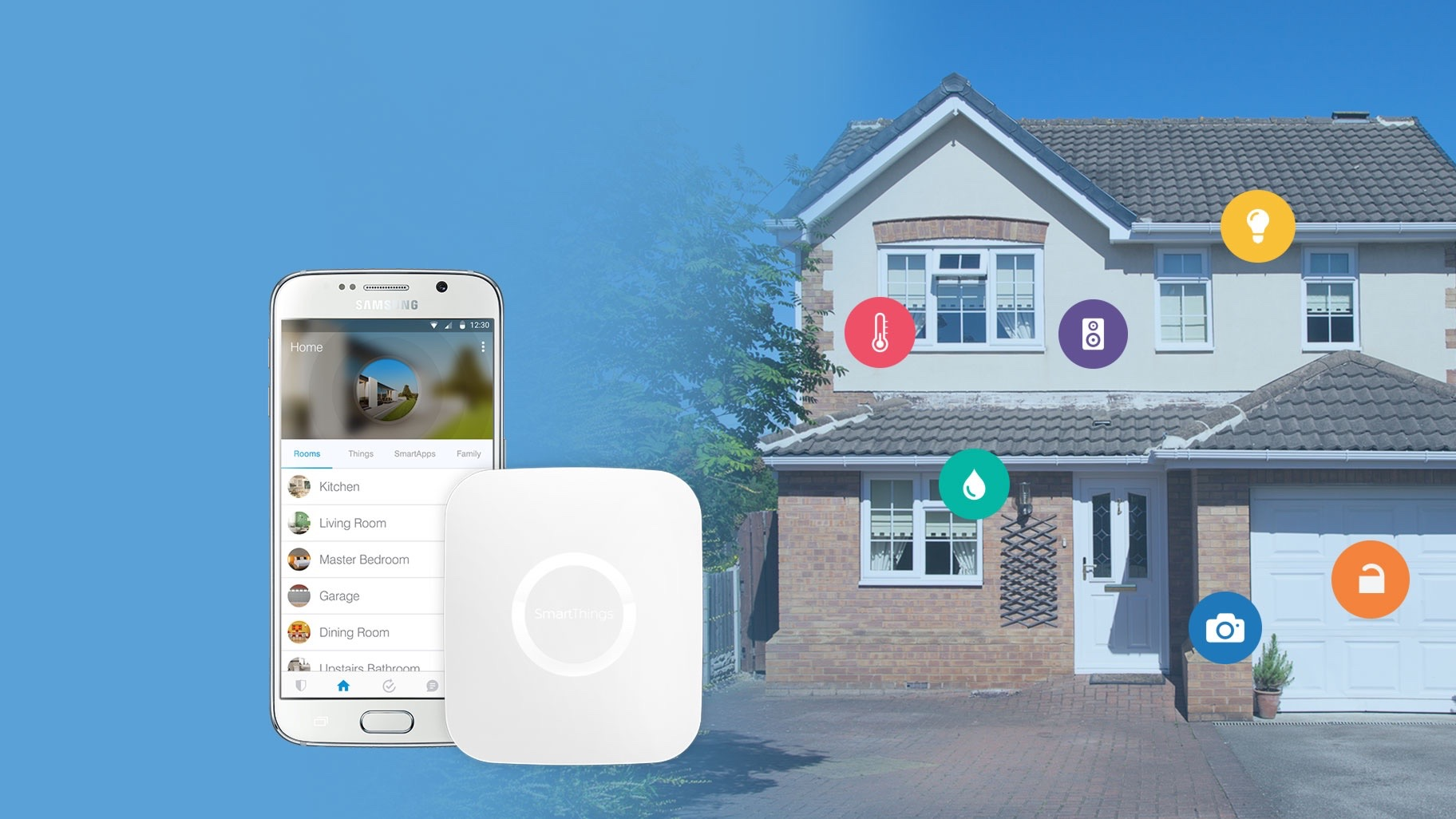 Samsung SmartThings now available in the UK