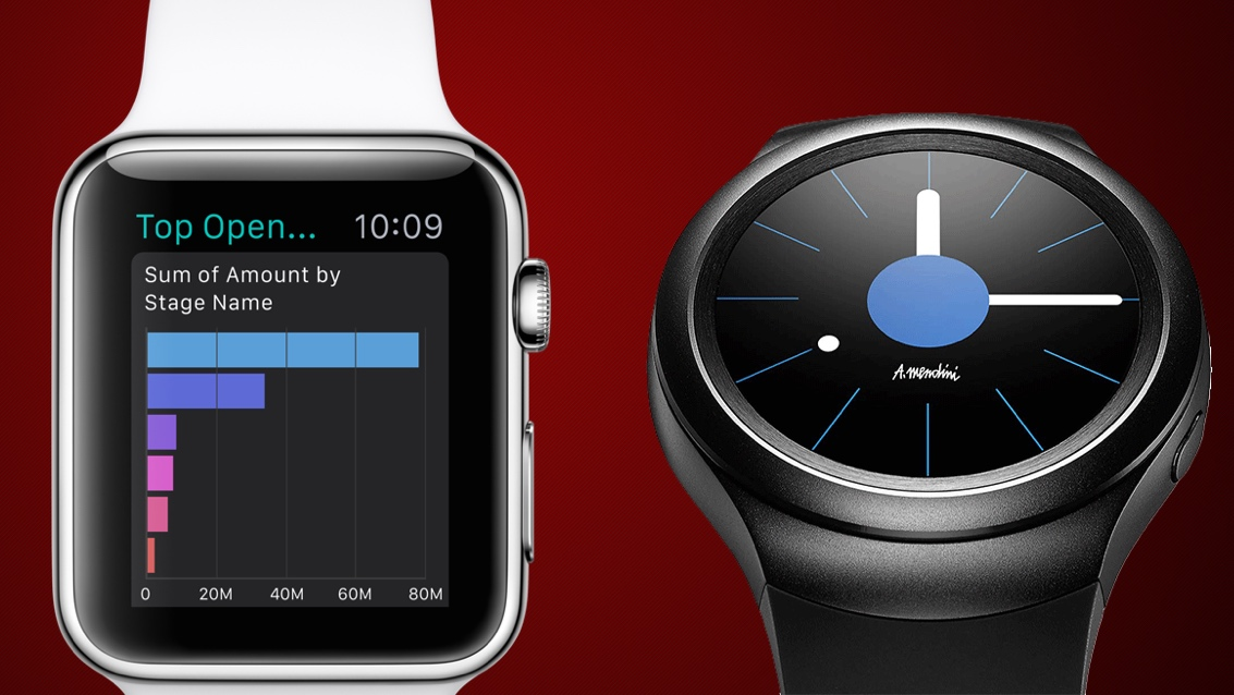 Apple Watch v Samsung Gear S2