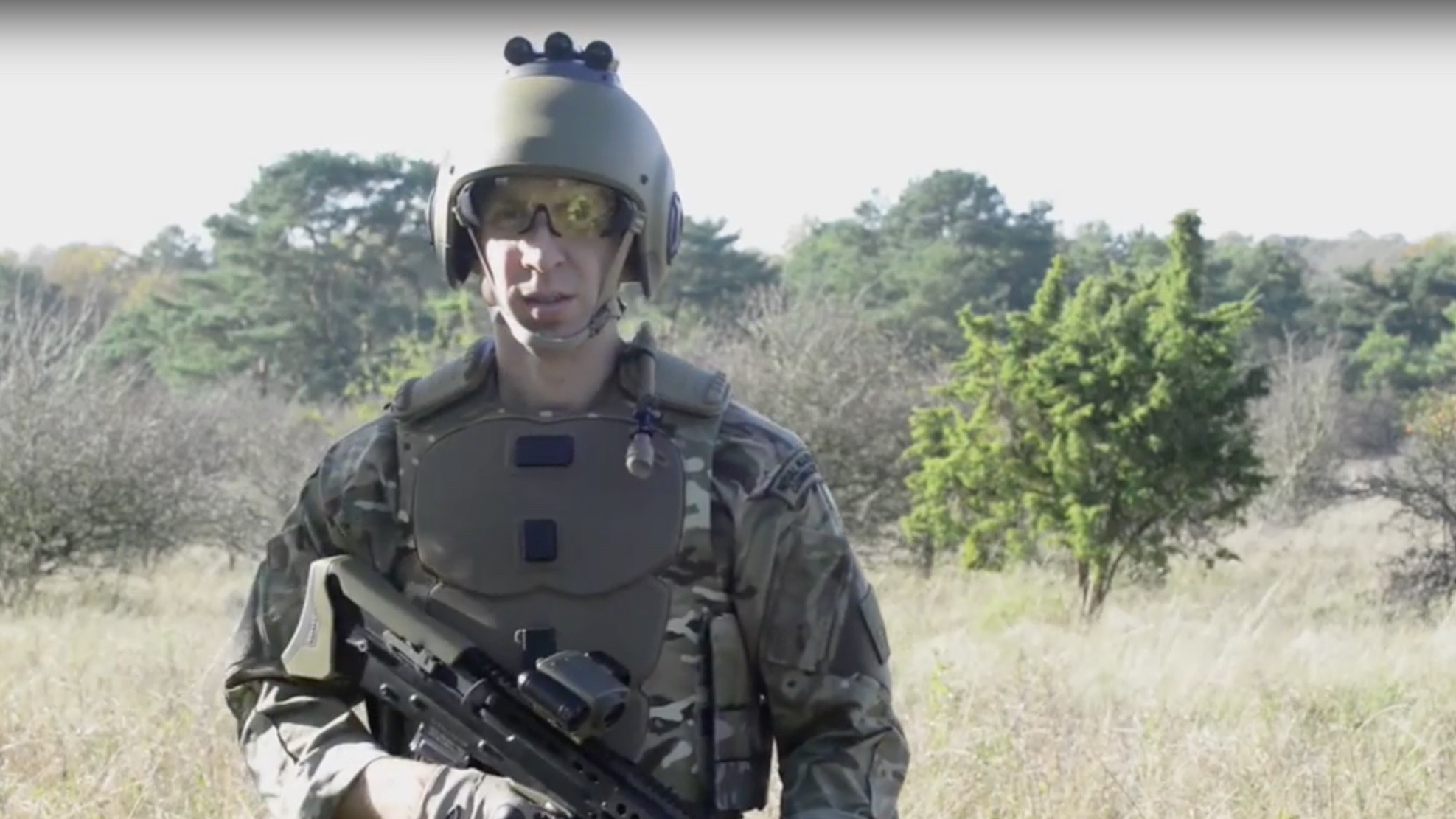 MoD unveils 'smart uniforms' for Army