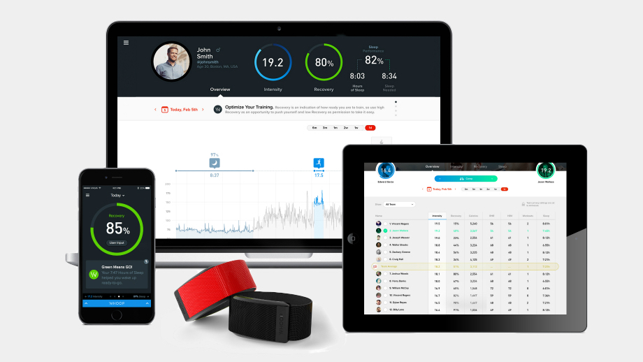 Whoop tracker for athletes raises $12m