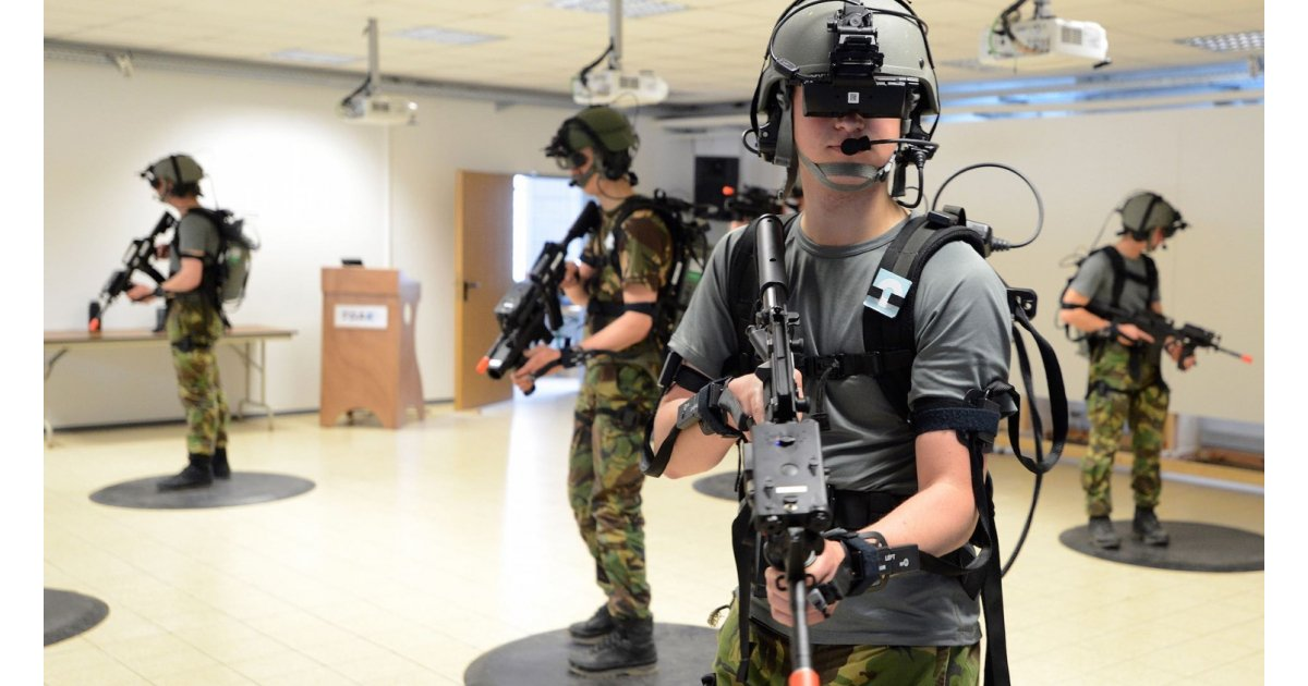 How VR is training the perfect soldier