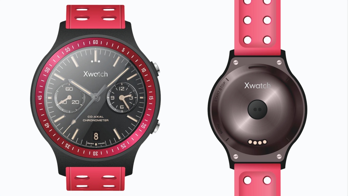 Bluboo Xwatch Android Wear sporty number