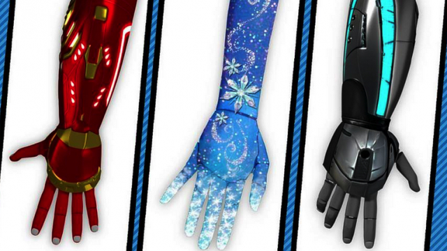 Disney-themed prosthetics coming soon