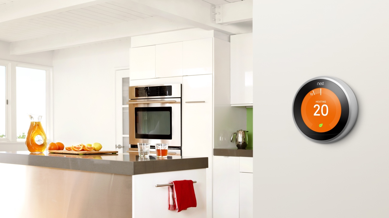 Nest's new thermostat controls hot water