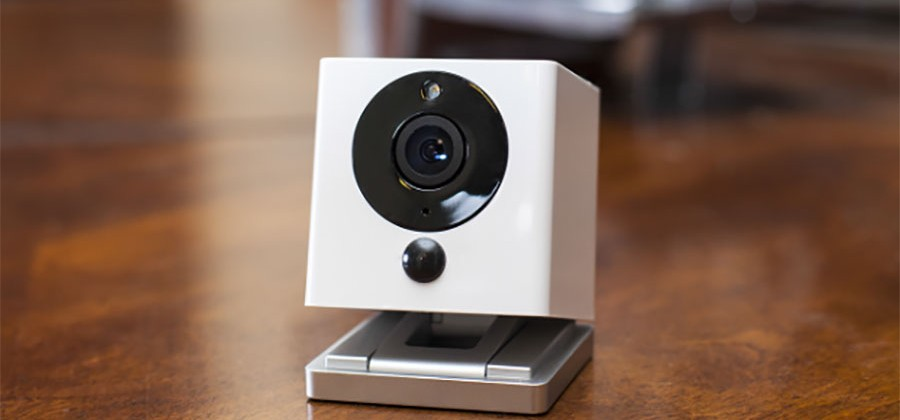 Spot smart home cam 'hears' smoke alarms