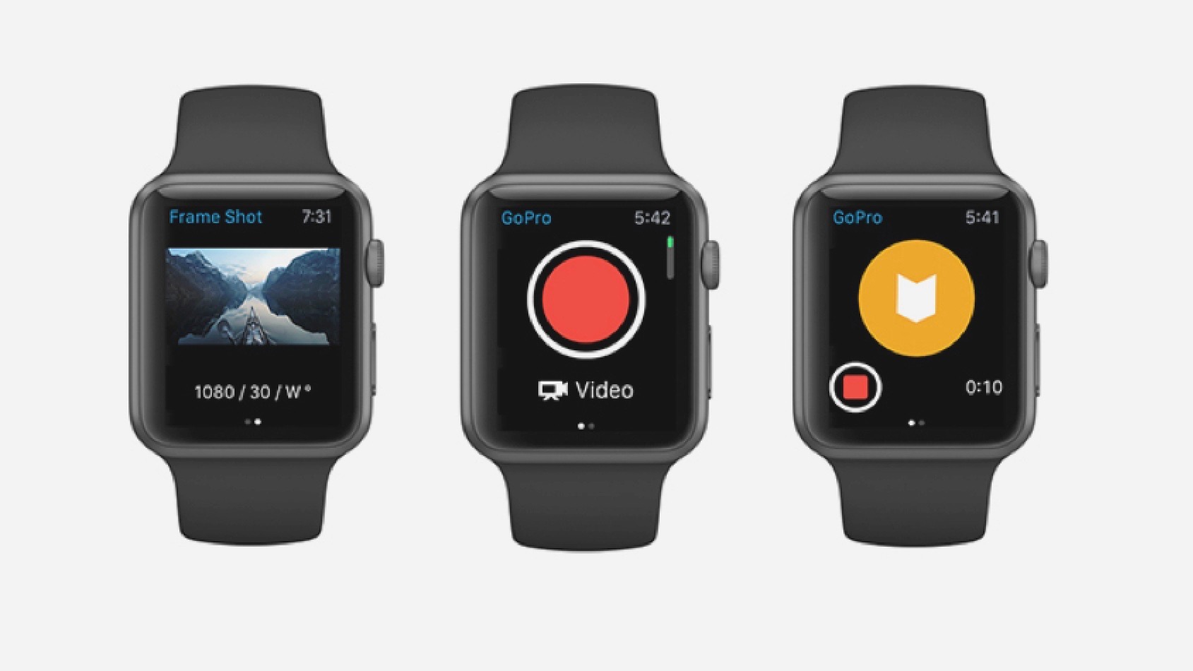 GoPro's Apple Watch app is live