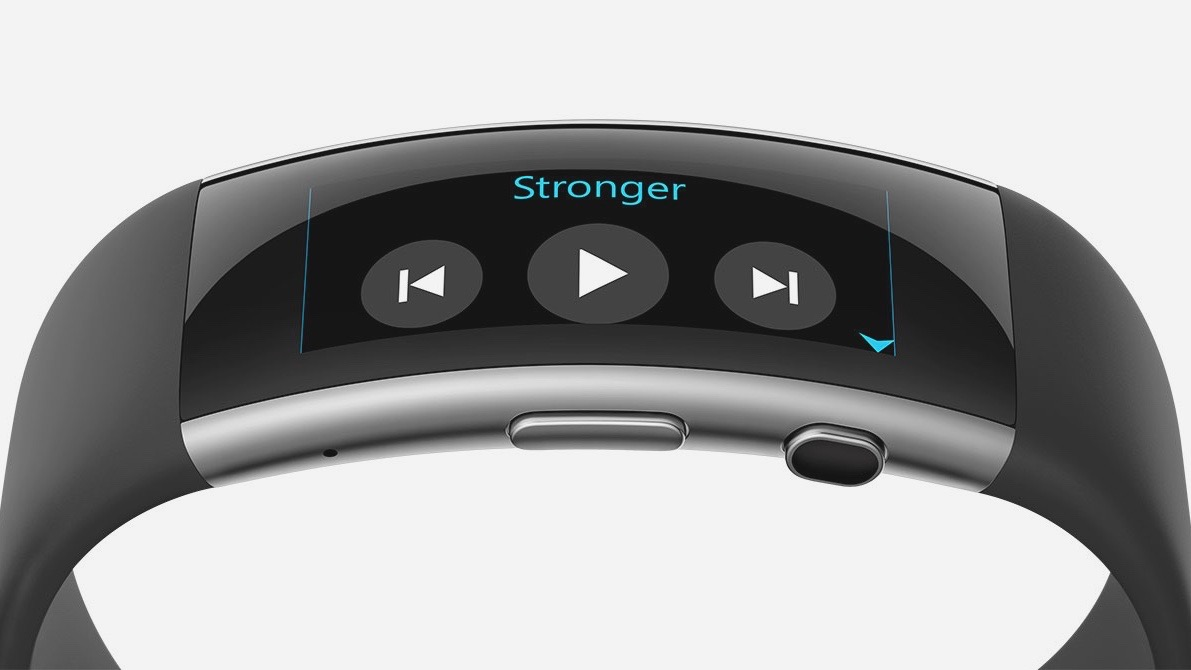 Microsoft Band 2 now controls your music