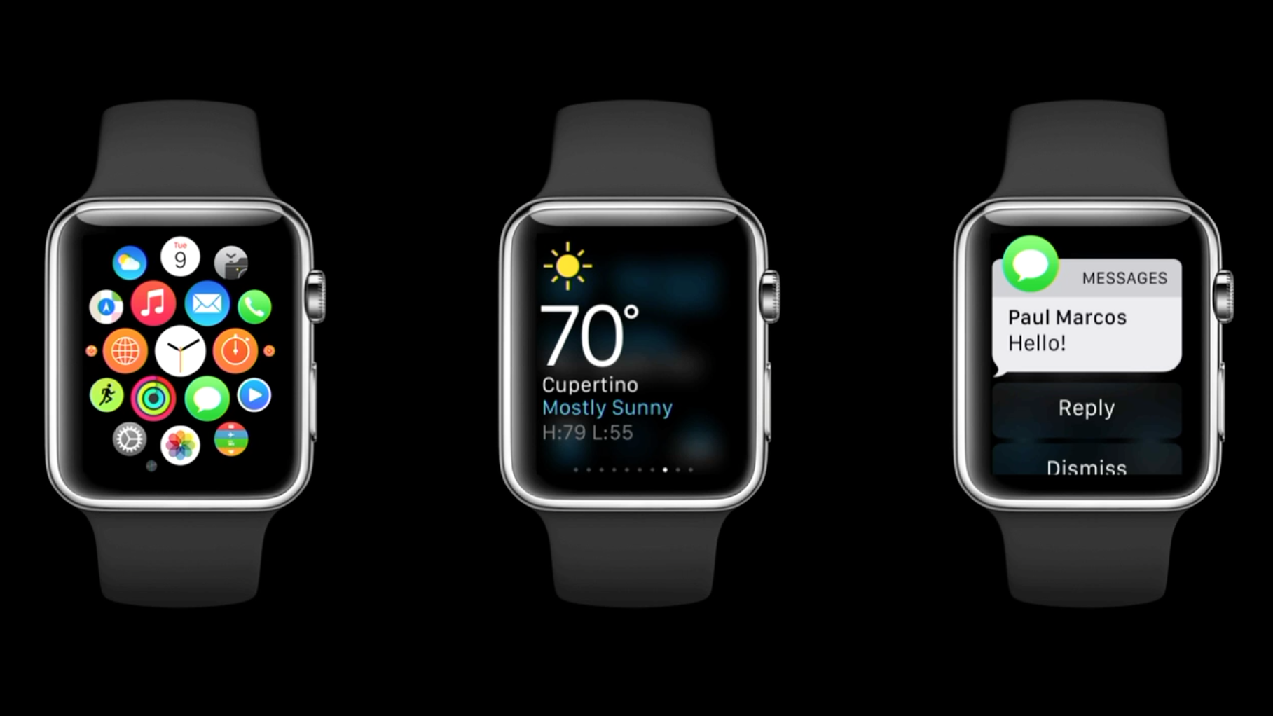 Why smartwatch apps don't matter