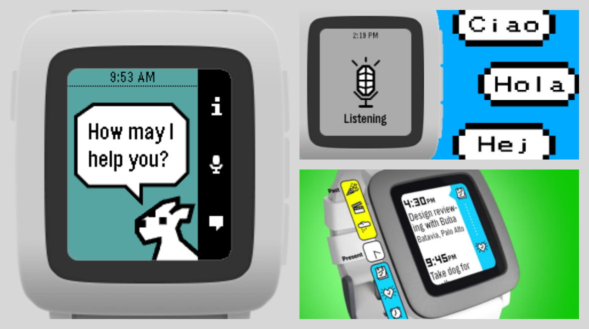 Snowy gives Pebble Time Siri-like powers