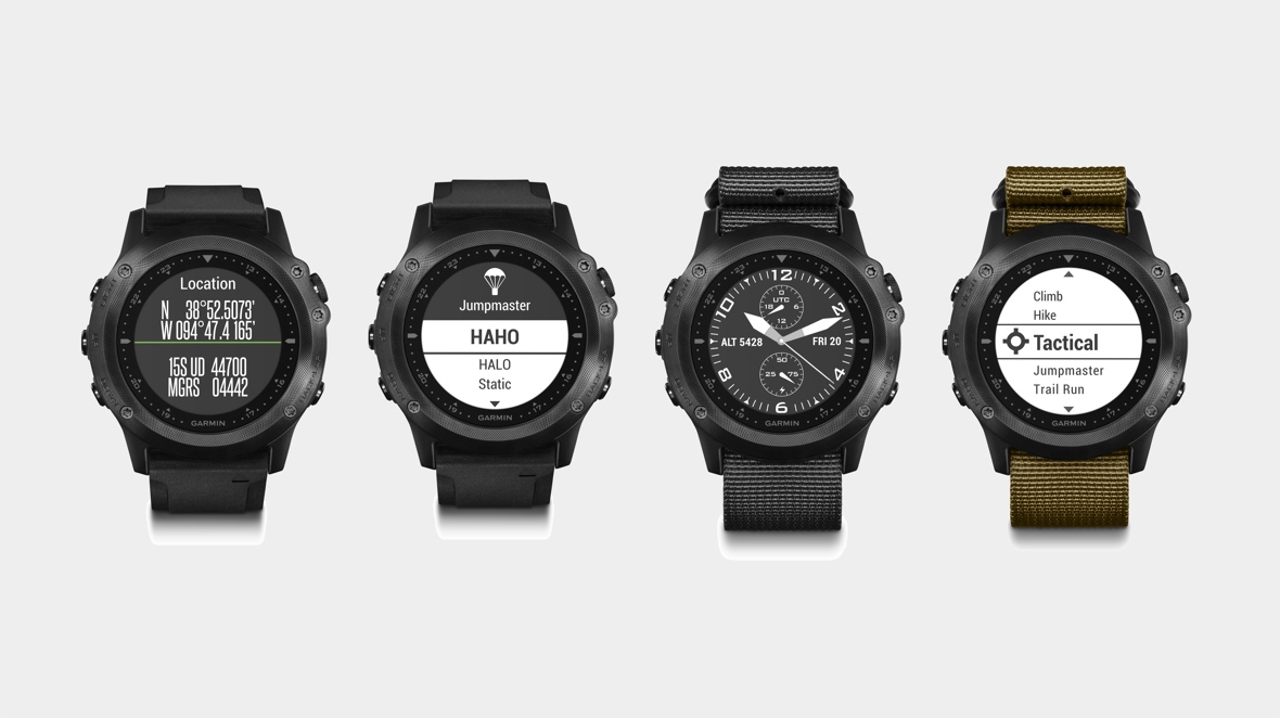 Garmin Tactix Bravo goes into stealth mode