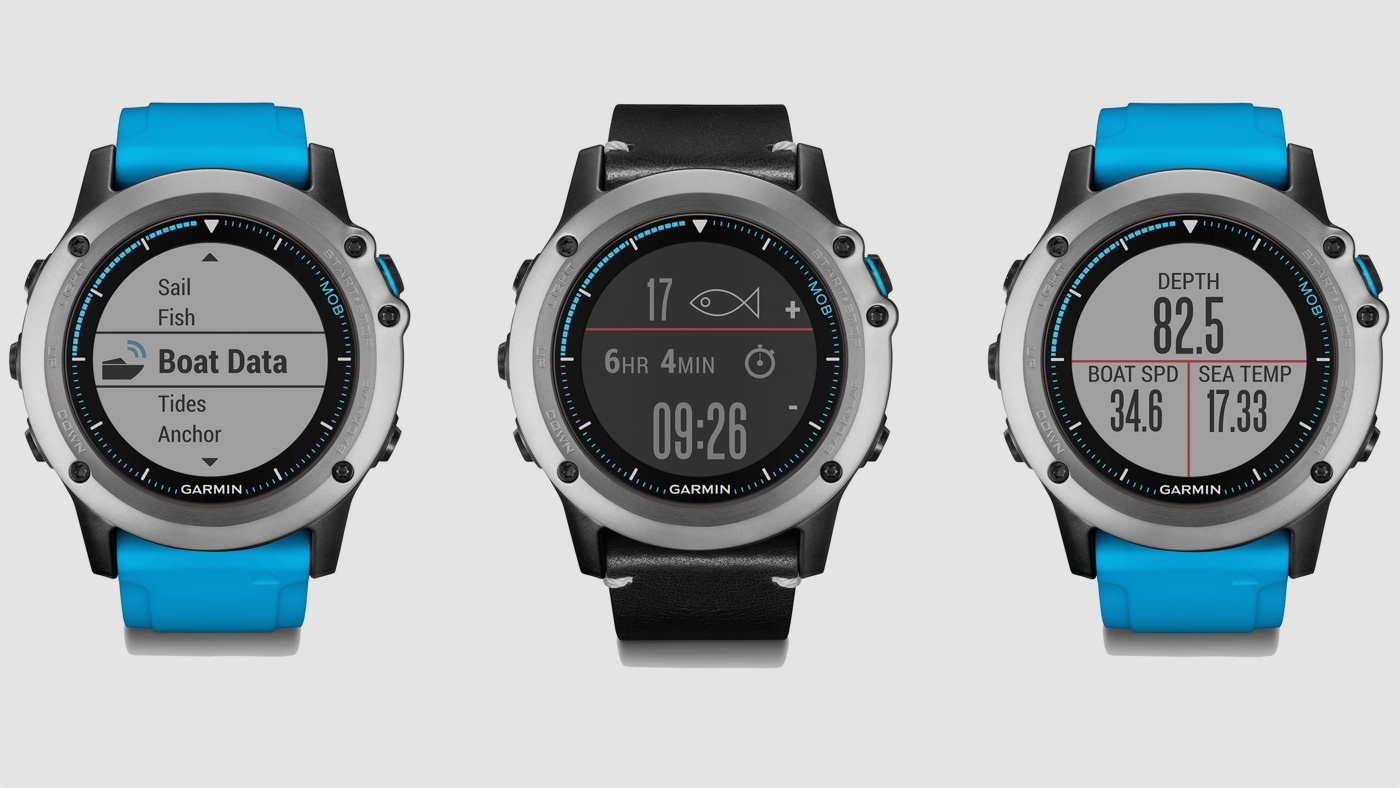 Get in the sea: Garmin Quatix 3 splash-lands