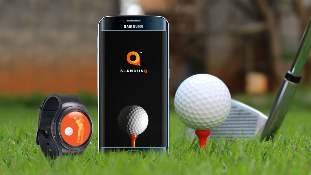 SlamDunq golf app hits Gear S2