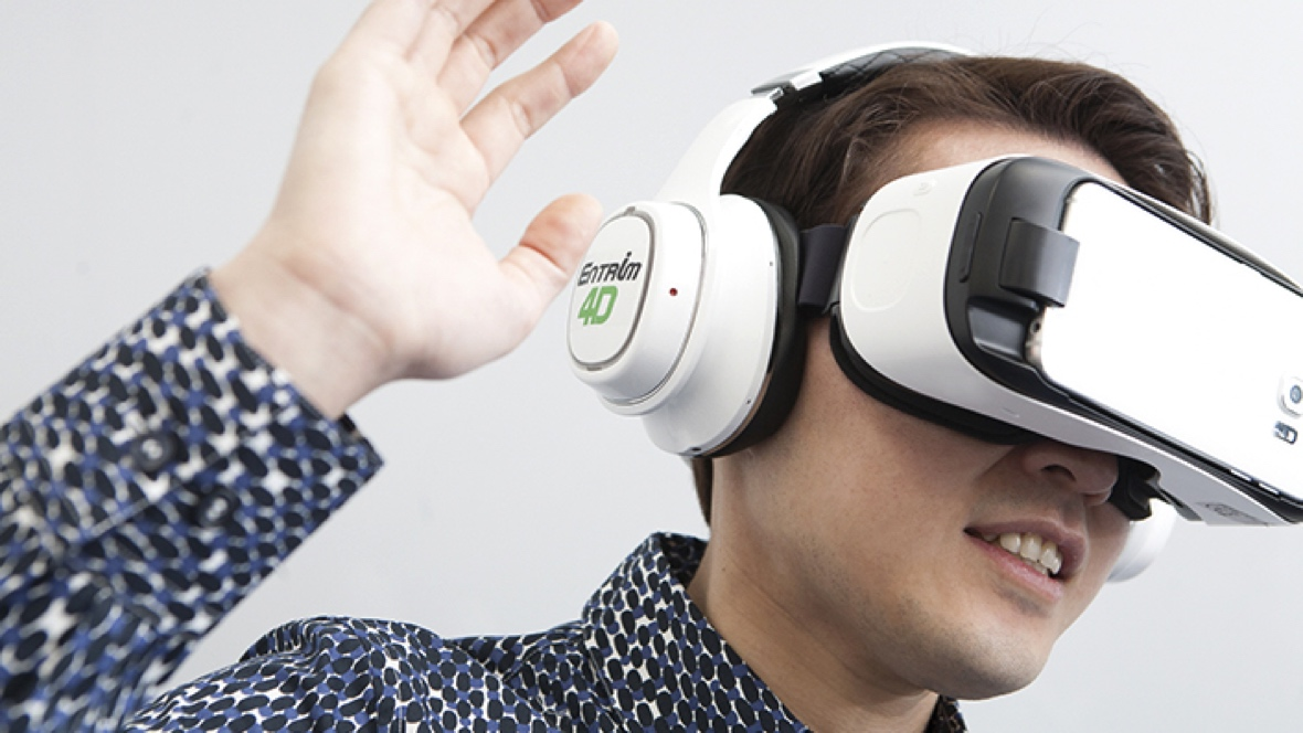 First look: Feeling VR with Entrim 4D